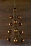 Árvore de Natal decorativa Fotos de Stock Royalty Free