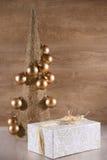 Árvore de Natal decorativa Fotos de Stock