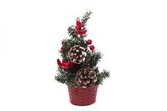 Árvore de Natal do brinquedo Foto de Stock Royalty Free