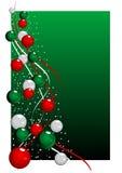 Árvore de Natal do vetor Fotos de Stock Royalty Free