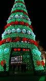 Árvore de Natal gigante exterior Fotografia de Stock Royalty Free