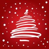 Árvore de Natal (ilustração) ilustração royalty free