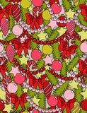 Árvore de Natal infinita Imagens de Stock