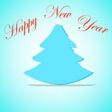 Árvore de Natal, inseto da celebração, bandeira, abeto Imagens de Stock