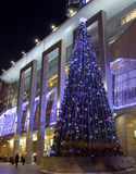 Árvore de Natal, Moscou Imagens de Stock Royalty Free