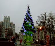 Árvore de Natal, Moscovo Imagens de Stock Royalty Free