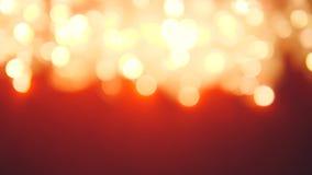A árvore de Natal obscura conduziu Garland Bokeh Blinking Lights close up 4k vídeos de arquivo