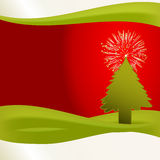 Árvore de Natal original Imagem de Stock