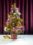 Árvore de Natal pequena foto de stock
