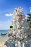 Árvore de Natal, praia do Ao Nang, Tailândia Foto de Stock Royalty Free
