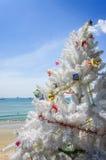 Árvore de Natal, praia do Ao Nang, Tailândia Foto de Stock
