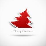 Árvore de Natal, projeto Foto de Stock Royalty Free