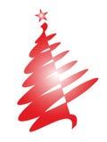 Árvore de Natal simples Fotografia de Stock