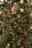 Árvore de Natal tradicional foto de stock
