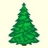Árvore de Natal verde Imagem de Stock
