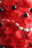 Árvore de Natal vermelha Imagens de Stock Royalty Free