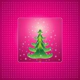 Árvore de Natal, vetor   Fotos de Stock Royalty Free