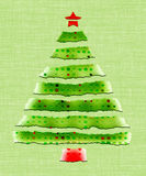 Árvore de papel Imagem de Stock