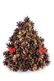 Árvore de pinho do Natal Fotos de Stock Royalty Free