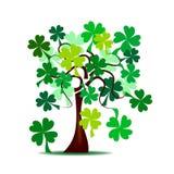 A árvore de St Patrick ilustração royalty free