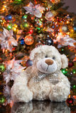 A árvore de Toy And New Year imagem de stock