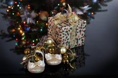 A árvore de Toy And New Year imagem de stock royalty free