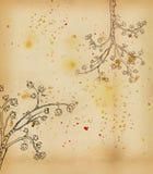 Árvore de tulip de florescência ilustração stock