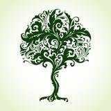 Árvore decorativa decorativa Fotos de Stock