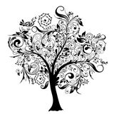 Árvore decorativa, vetor Fotografia de Stock Royalty Free