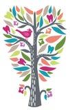Árvore dental bonita do dente ilustração royalty free