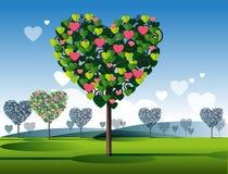 Árvore do amor Imagens de Stock