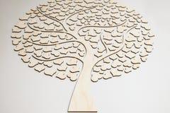 Árvore do amor dos corações Imagens de Stock