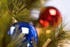 Árvore do ano novo Imagem de Stock Royalty Free