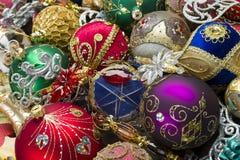 A árvore do ano novo brinca o montão Imagens de Stock