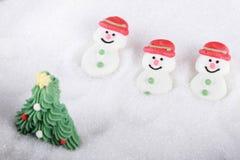 Boneco de neve do açúcar Imagem de Stock Royalty Free