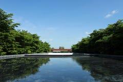 Árvore do céu da água Imagem de Stock Royalty Free