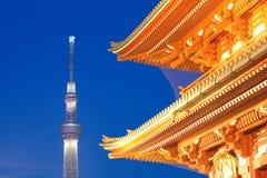 Árvore do céu do Tóquio imagem de stock royalty free