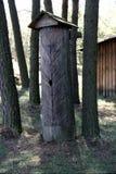 Árvore do celeiro no museu do ar livre em Nowgorod Imagem de Stock Royalty Free