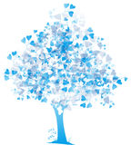 Árvore do coração ilustração stock
