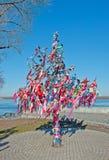 Árvore do desejo em Kiev Fotos de Stock