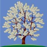 Árvore do dinheiro Ilustração do Vetor