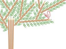 Árvore do escritório ilustração stock
