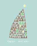 Árvore do feriado Fotos de Stock