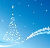 Árvore do feriado do vetor Foto de Stock