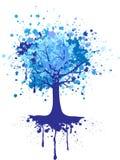 Árvore do inverno ilustração do vetor