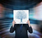 Árvore do microchip Fotografia de Stock Royalty Free
