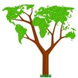 Árvore do mundo Foto de Stock Royalty Free