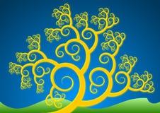 Árvore do ouro ilustração royalty free