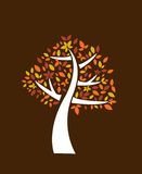 Árvore do outono Imagens de Stock