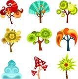 Árvore do projeto ilustração stock